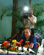 Pressekonferenz Lance Armstrong (TdF-Sieger 2003) - Graz - Di 29.07.2003 - 20
