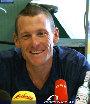 Pressekonferenz Lance Armstrong (TdF-Sieger 2003) - Graz - Di 29.07.2003 - 6