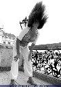 Fotoshooting mit Mimi aus L.A. - Schönbrunn / Studio Wien - Fr 25.07.2003 - 12