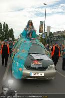 Regenbogen Parade - Ringstrasse - Sa 12.07.2008 - 109