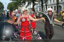 Regenbogen Parade - Ringstrasse - Sa 12.07.2008 - 138