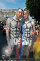 Regenbogen Parade - Ringstrasse - Sa 12.07.2008 - 141