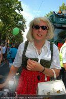 Regenbogen Parade - Ringstrasse - Sa 12.07.2008 - 145