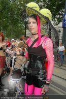 Regenbogen Parade - Ringstrasse - Sa 12.07.2008 - 84