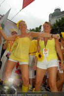 Regenbogen Parade - Ringstrasse - Sa 12.07.2008 - 88