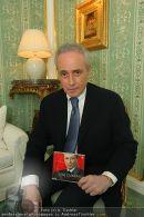 Jose Carreras - Hotel Sacher - Mo 08.09.2008 - 2