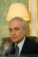 Jose Carreras - Hotel Sacher - Mo 08.09.2008 - 7