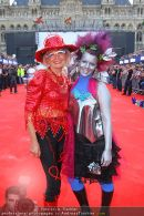 Lifeball Red Carpet Gäste - Rathaus - Sa 17.05.2008 - 11