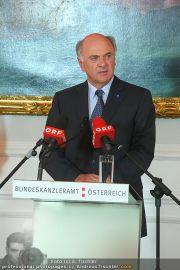 Ehrung - Bundeskanzleramt - Do 29.04.2010 - 9