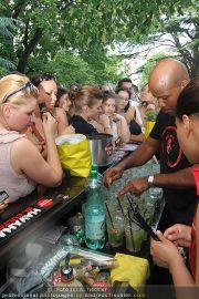 Mojito Cocktail - Burggarten - Di 08.06.2010 - 21