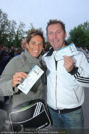 VIPs bei U2 - Happelstadion - Mo 30.08.2010 - 23