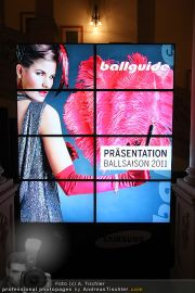 Ballguide Präsentation - Hofreitschule - Mi 10.11.2010 - 24