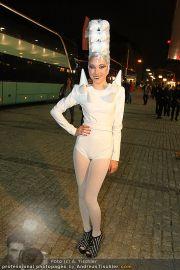 VIPs beim Lady Gaga Konzert - Wiener Stadthalle - Do 11.11.2010 - 8