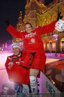 Eishockey Charity - Rathausplatz - Do 18.02.2010 - 9