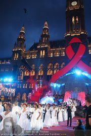 Lifeball Bühne - Rathaus - Sa 17.07.2010 - 19