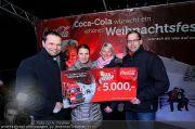 Coca Cola Truck - Rathaus - Sa 18.12.2010 - 18