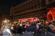 Coca Cola Truck - Rathaus - Sa 18.12.2010 - 68