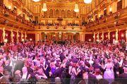 Philharmonikerball - Musikverein - Do 20.01.2011 - 18