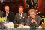 Business Lunch - Hotel Sacher - Mo 24.01.2011 - 17