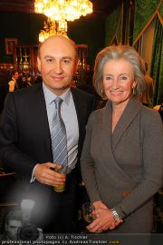 Business Lunch - Hotel Sacher - Mo 24.01.2011 - 2