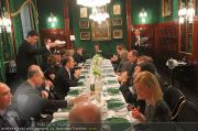 Business Lunch - Hotel Sacher - Mo 24.01.2011 - 46