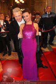 Opernball Red Carpet - Staatsoper - Do 03.03.2011 - 20
