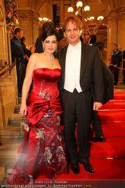 Opernball Red Carpet - Staatsoper - Do 03.03.2011 - 21