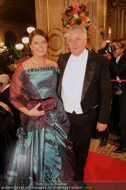 Opernball Red Carpet - Staatsoper - Do 03.03.2011 - 41
