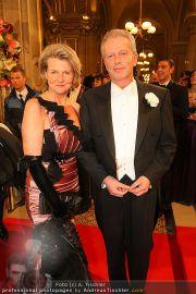 Opernball Red Carpet - Staatsoper - Do 03.03.2011 - 43