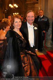 Opernball Red Carpet - Staatsoper - Do 03.03.2011 - 46