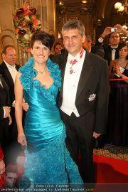 Opernball Red Carpet - Staatsoper - Do 03.03.2011 - 72