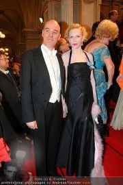 Opernball Red Carpet - Staatsoper - Do 03.03.2011 - 85