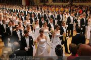 Opernball Eröffnung - Staatsoper - Do 03.03.2011 - 2