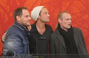 Jude Law bei 360-PK - Hotel Savoyen - Di 26.04.2011 - 10