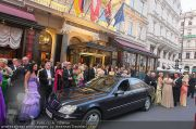 Fete Imperiale Empfang - Hotel Sacher - Do 07.07.2011 - 20