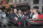Fete Imperiale Empfang - Hotel Sacher - Do 07.07.2011 - 22