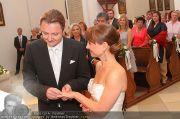 Hochzeit Sprenger - Trauung - Pfarrkirche Gainfarn - Sa 10.09.2011 - 106