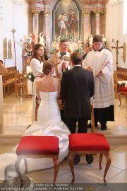 Hochzeit Sprenger - Trauung - Pfarrkirche Gainfarn - Sa 10.09.2011 - 122