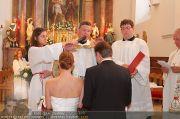 Hochzeit Sprenger - Trauung - Pfarrkirche Gainfarn - Sa 10.09.2011 - 123