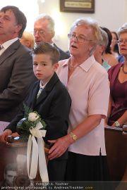 Hochzeit Sprenger - Trauung - Pfarrkirche Gainfarn - Sa 10.09.2011 - 135