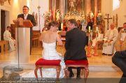 Hochzeit Sprenger - Trauung - Pfarrkirche Gainfarn - Sa 10.09.2011 - 21