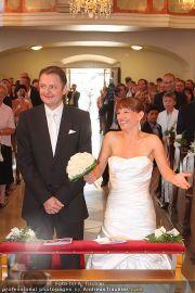 Hochzeit Sprenger - Trauung - Pfarrkirche Gainfarn - Sa 10.09.2011 - 22