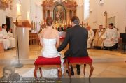 Hochzeit Sprenger - Trauung - Pfarrkirche Gainfarn - Sa 10.09.2011 - 4