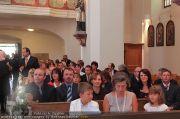 Hochzeit Sprenger - Trauung - Pfarrkirche Gainfarn - Sa 10.09.2011 - 54