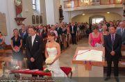 Hochzeit Sprenger - Trauung - Pfarrkirche Gainfarn - Sa 10.09.2011 - 80