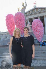 Pink Ribbon - Parlament - Mi 28.09.2011 - 22