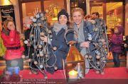 Lichterketten Charity - Tuchlauben - Di 29.11.2011 - 1
