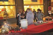 Lichterketten Charity - Tuchlauben - Di 29.11.2011 - 14