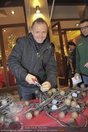 Lichterketten Charity - Tuchlauben - Di 29.11.2011 - 19