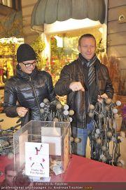 Lichterketten Charity - Tuchlauben - Di 29.11.2011 - 21